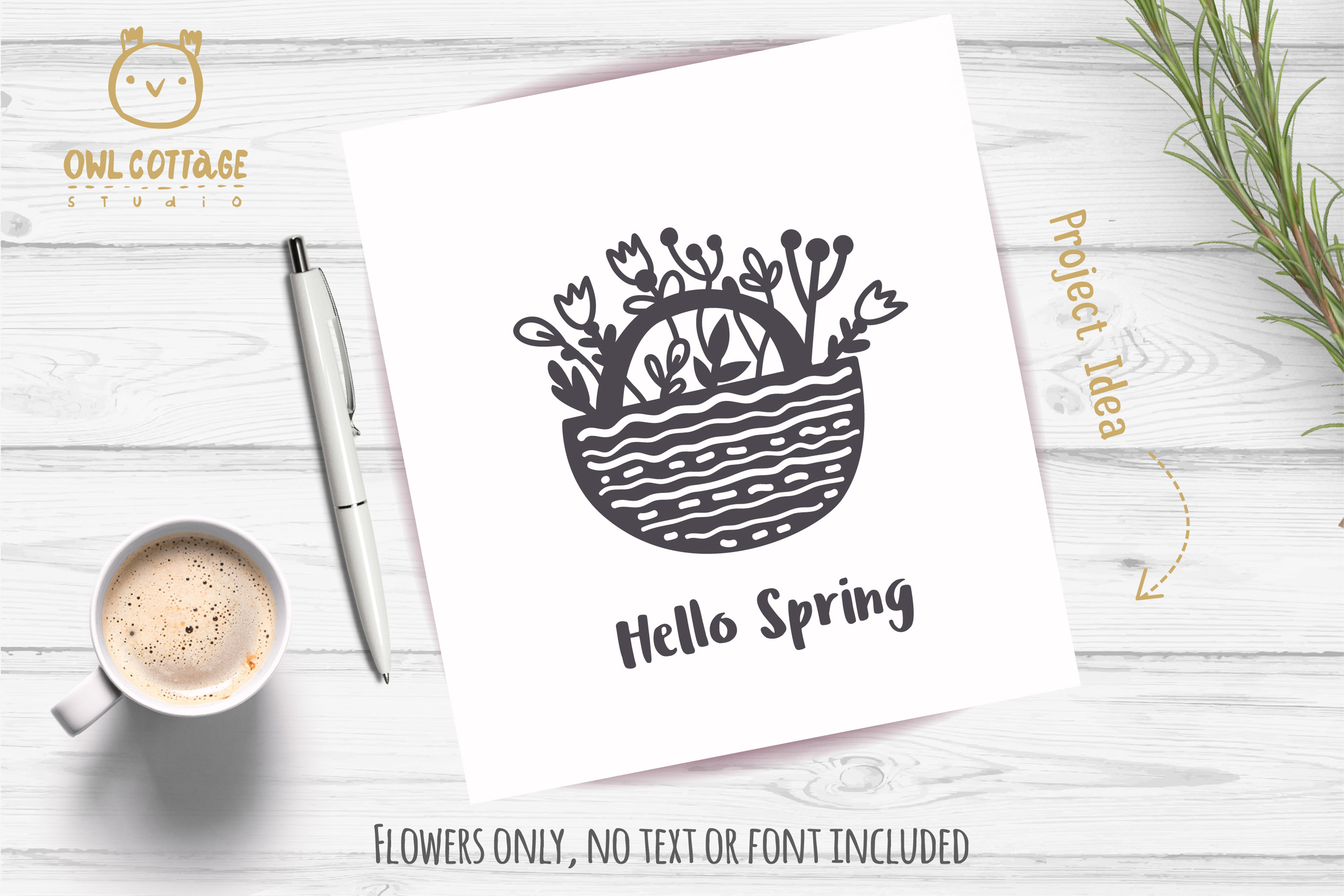 Spring Floral Gnomes SVG, Mr. and Mrs Gnomes, Tomte example image 12