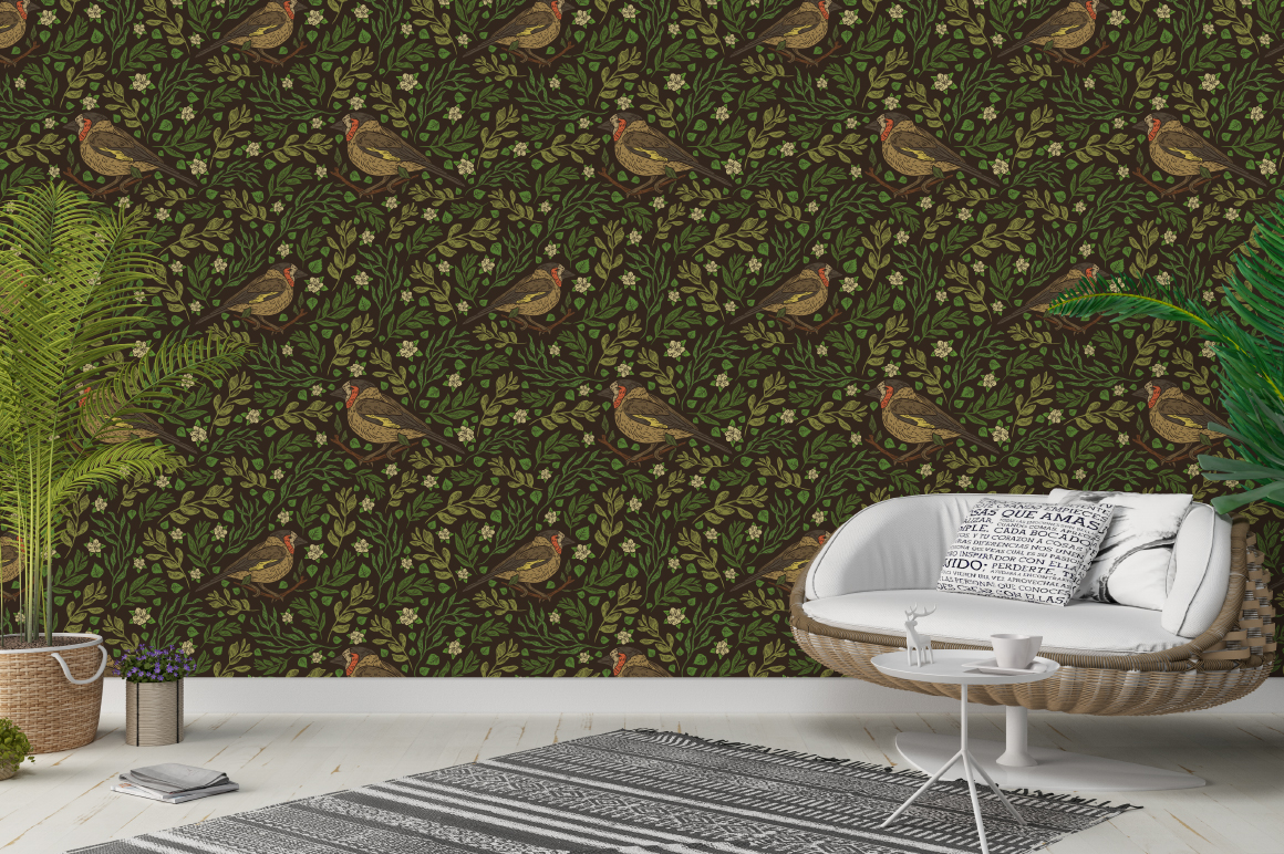 Small Urban Birds patterns example image 3