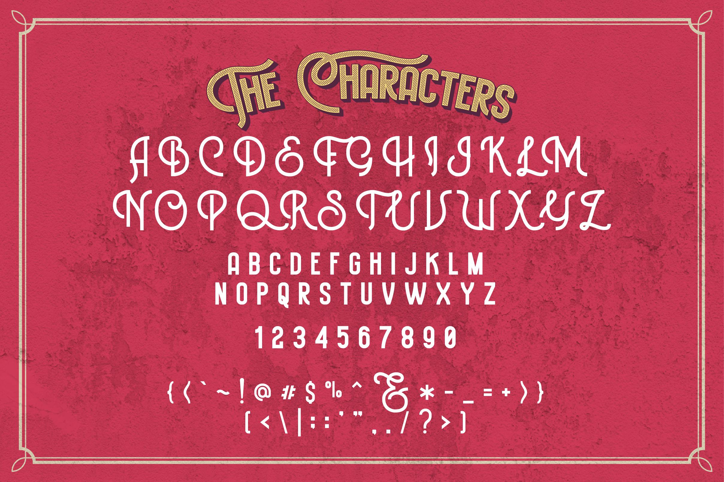 Historica Typeface example image 3