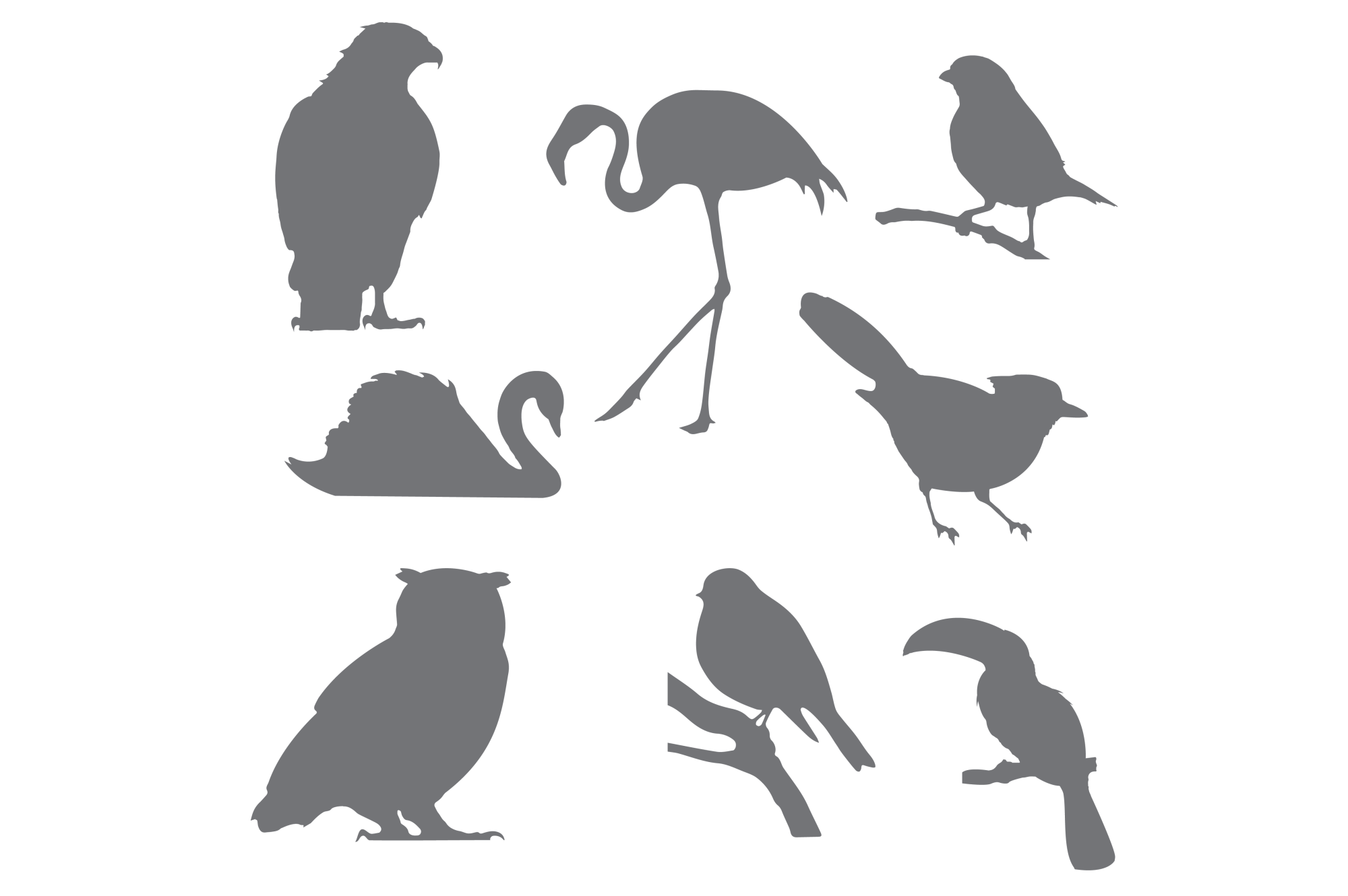 Bird Silhouettes for Crafters example image 2