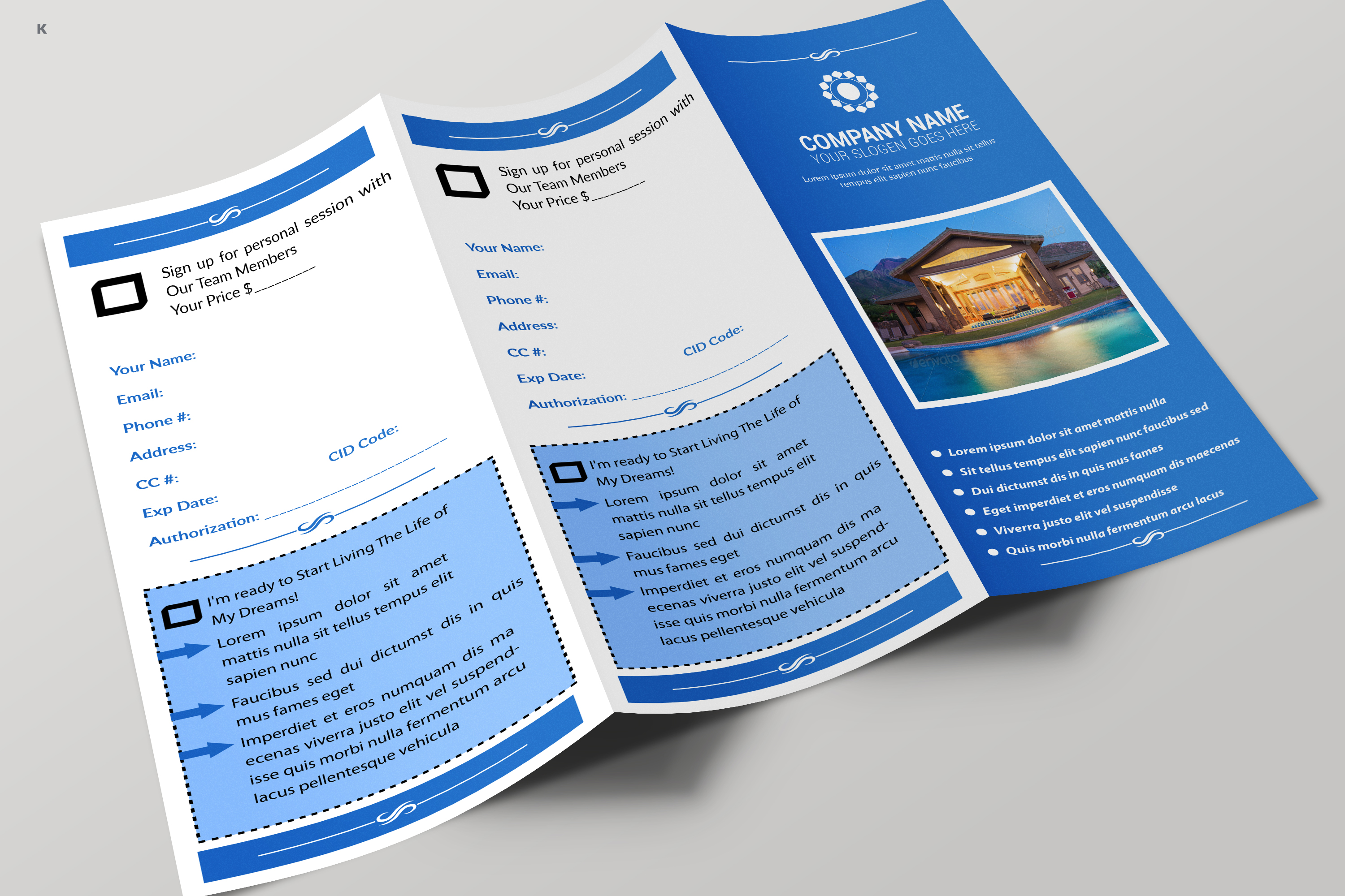 Real Estate Trifold example image 8