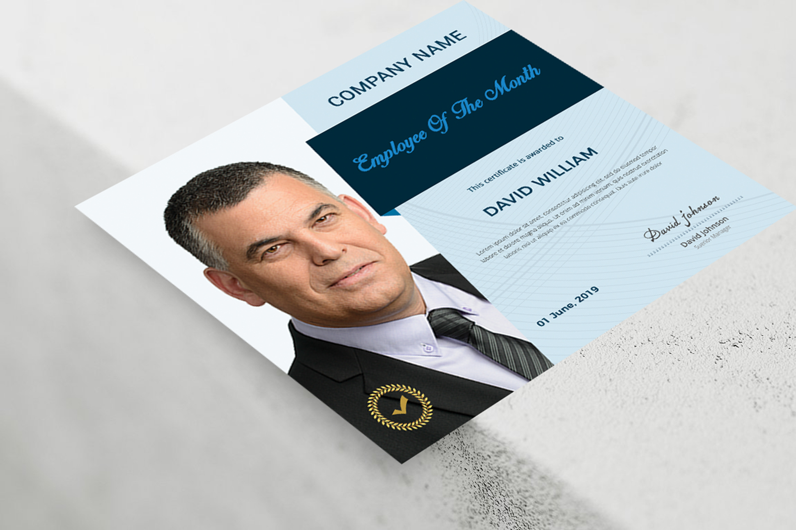 Employee Certificate example image 3