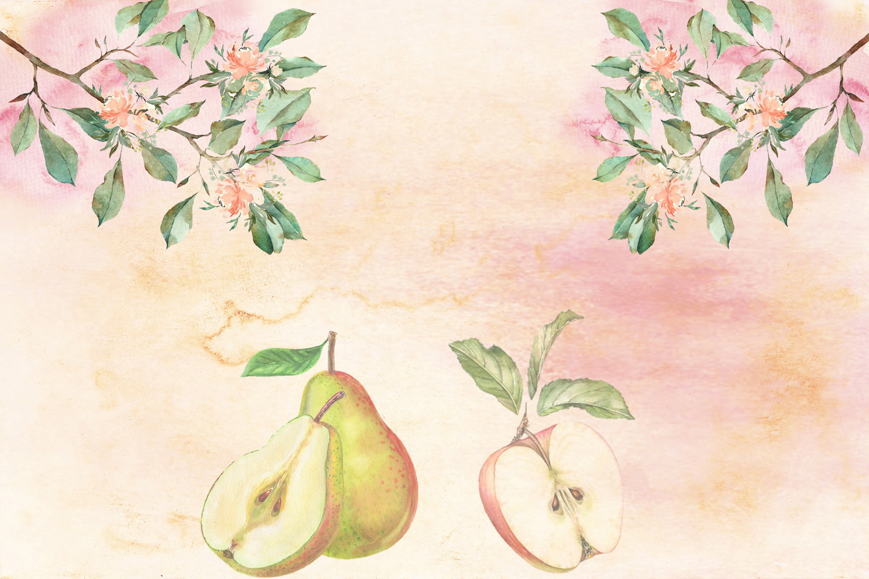 Fall Autumn Harvest Journaling kit with free ephemera CU example image 3
