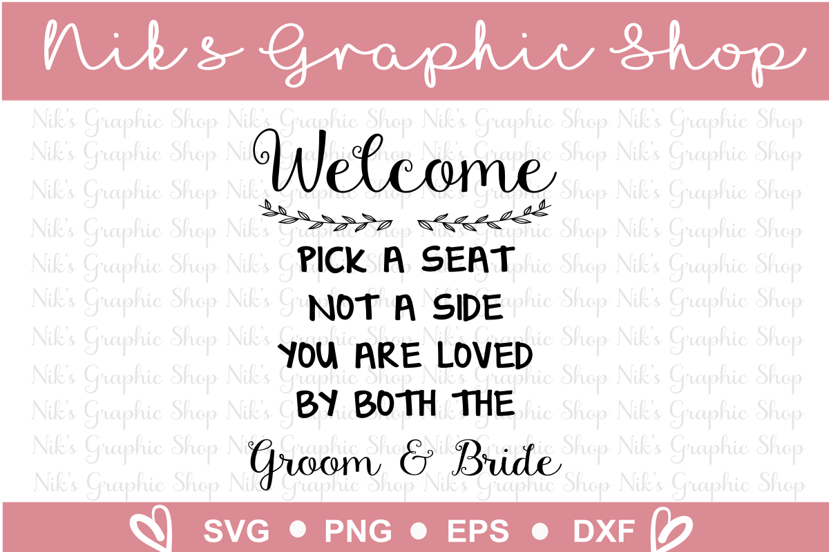Wedding Sign Svgs, Wedding Svg, Sign Svgs, Love Svgs example image 3