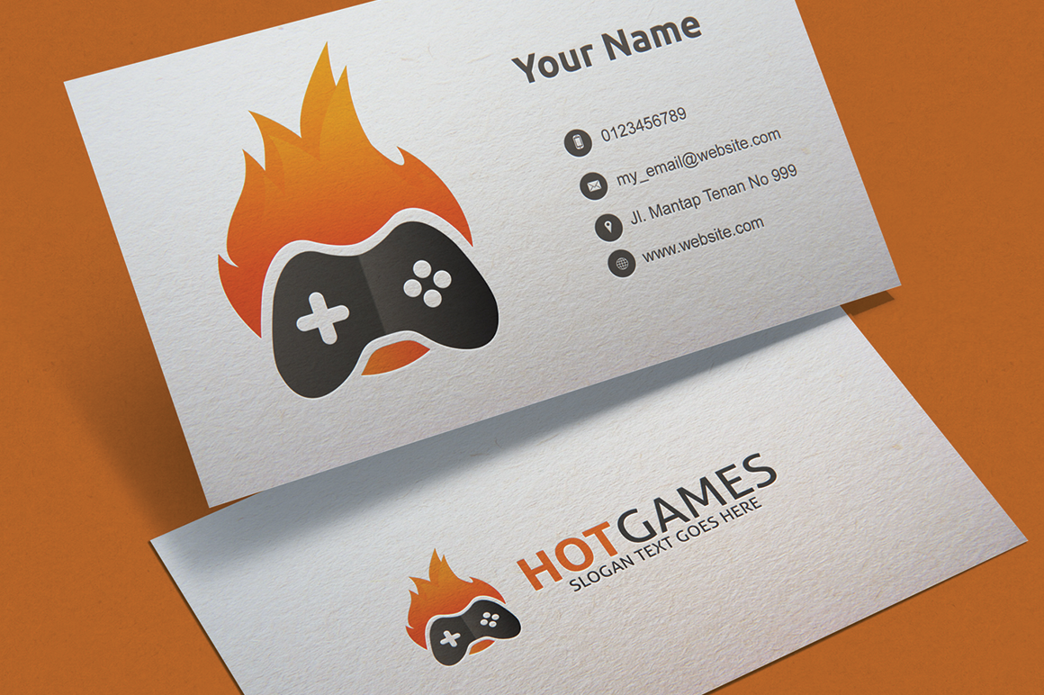 Hot Game Logo Template example image 2