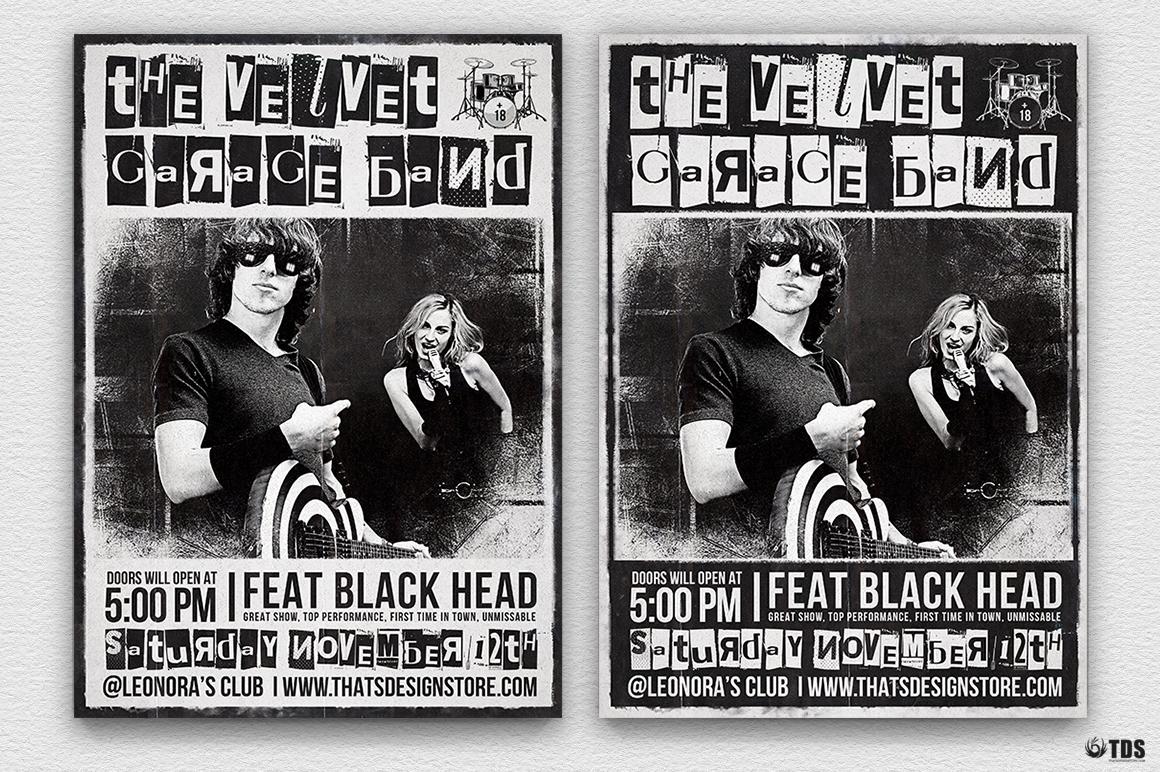 Live Band Flyer Bundle V2 example image 2