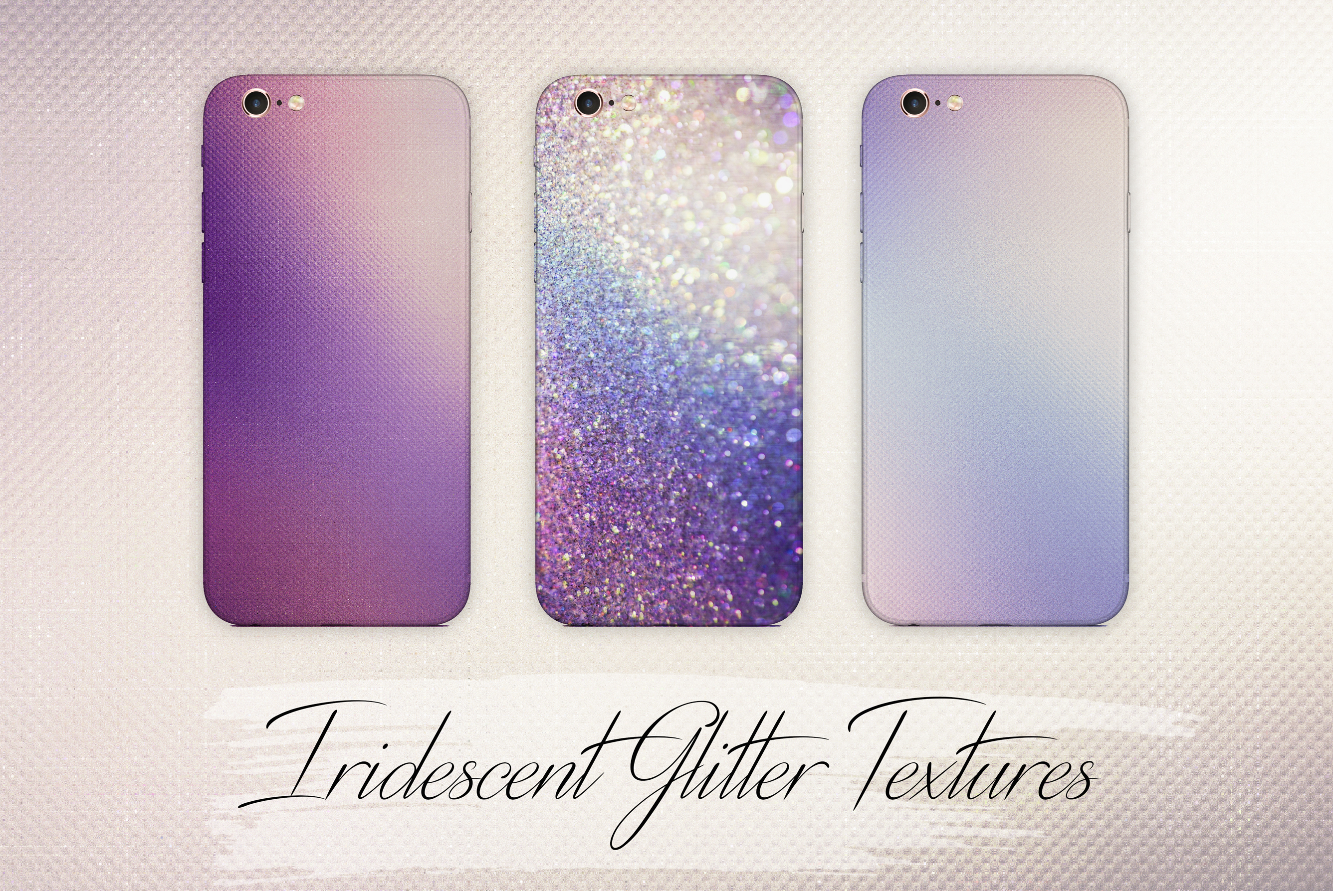Iridescent Marble and Glitter Textures BUNDLE example image 18