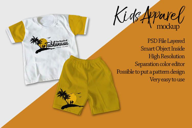 Kids Apparel Mockup example image 3