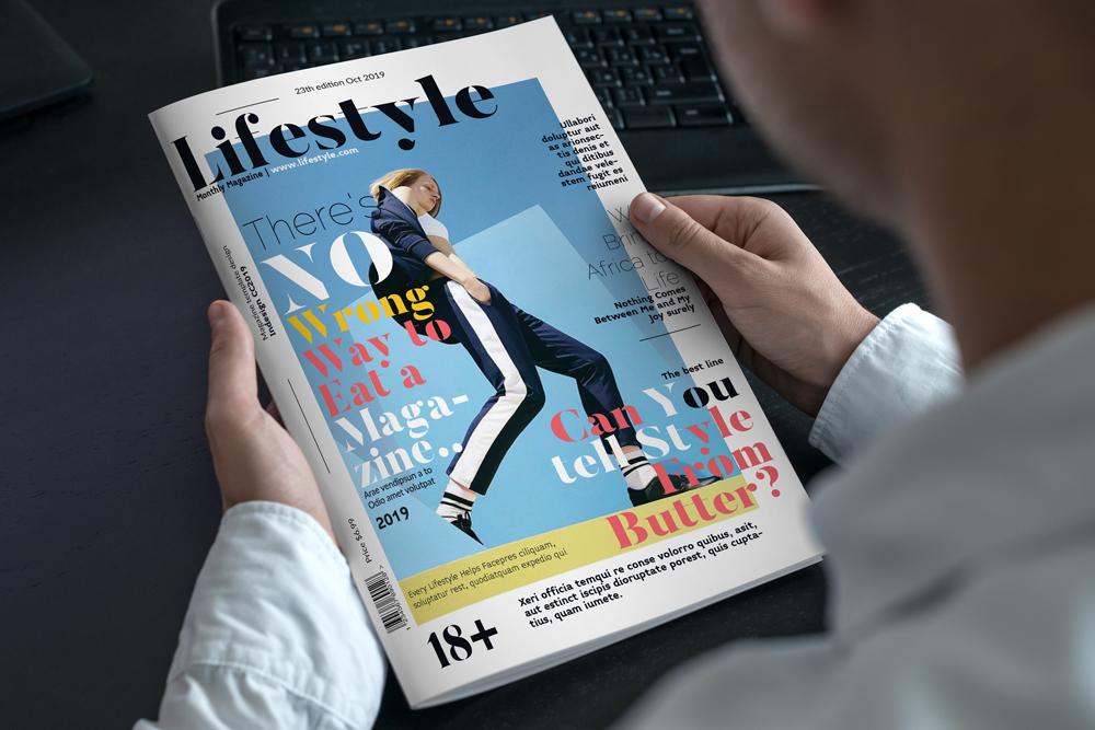 Fashion Magazine Layout Template example image 24