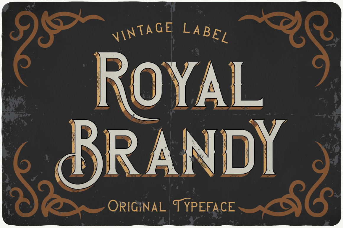 Vintage Fonts Bundle example image 12