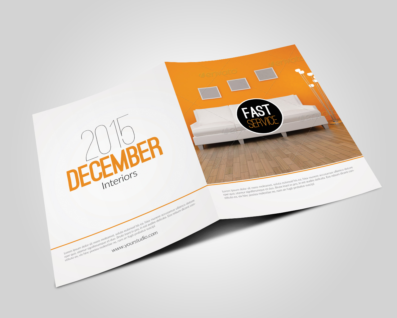 Real Estate Agency Bifold Brochures example image 2