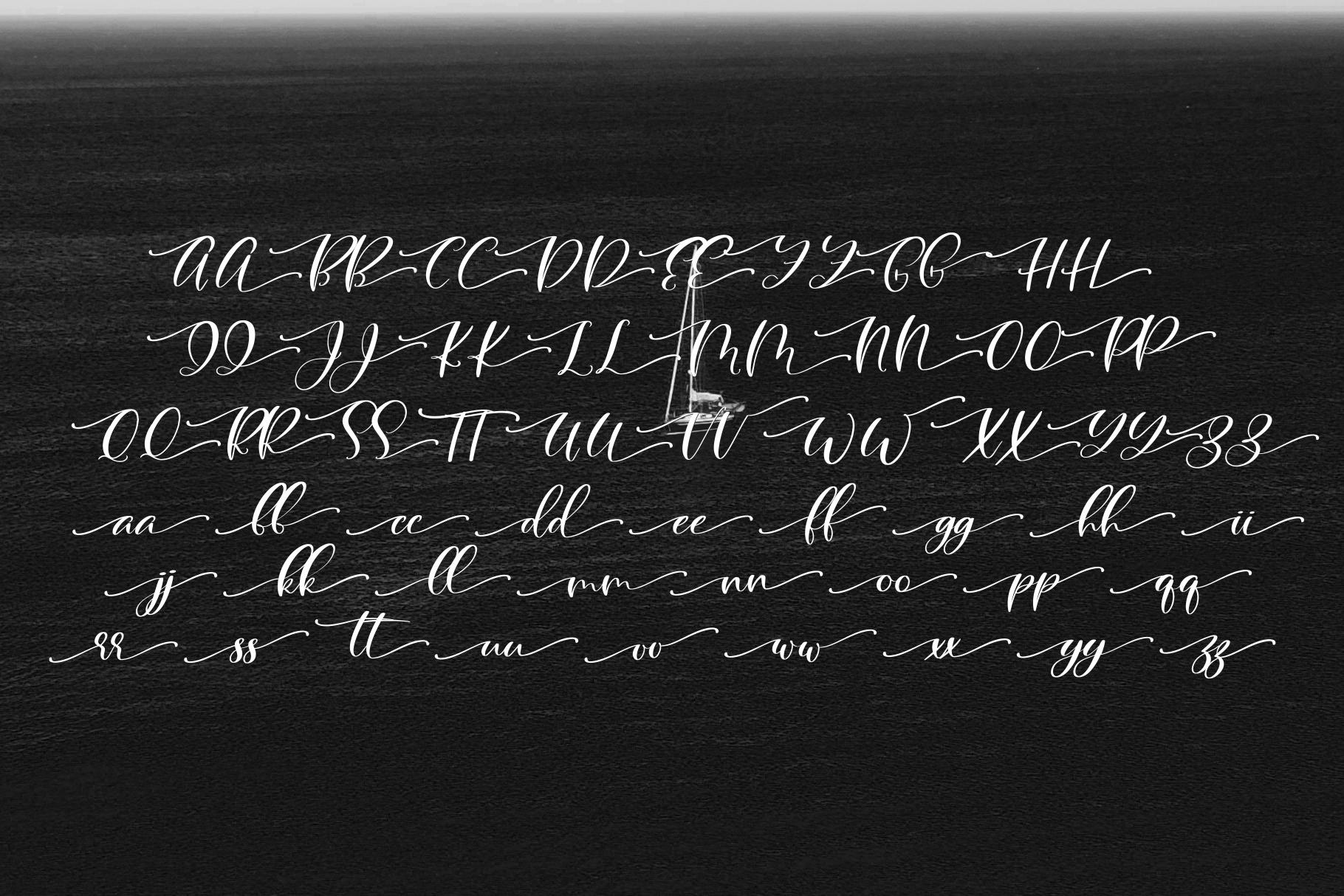 Blacksea Font Duo example image 8