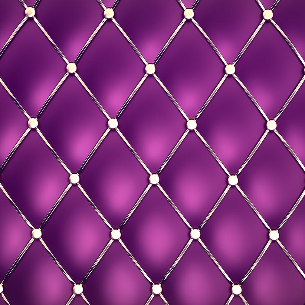 Valentines Purple Digital Paper example image 2