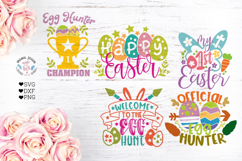 Easter Cut Files Bundle Ten Designs example image 2