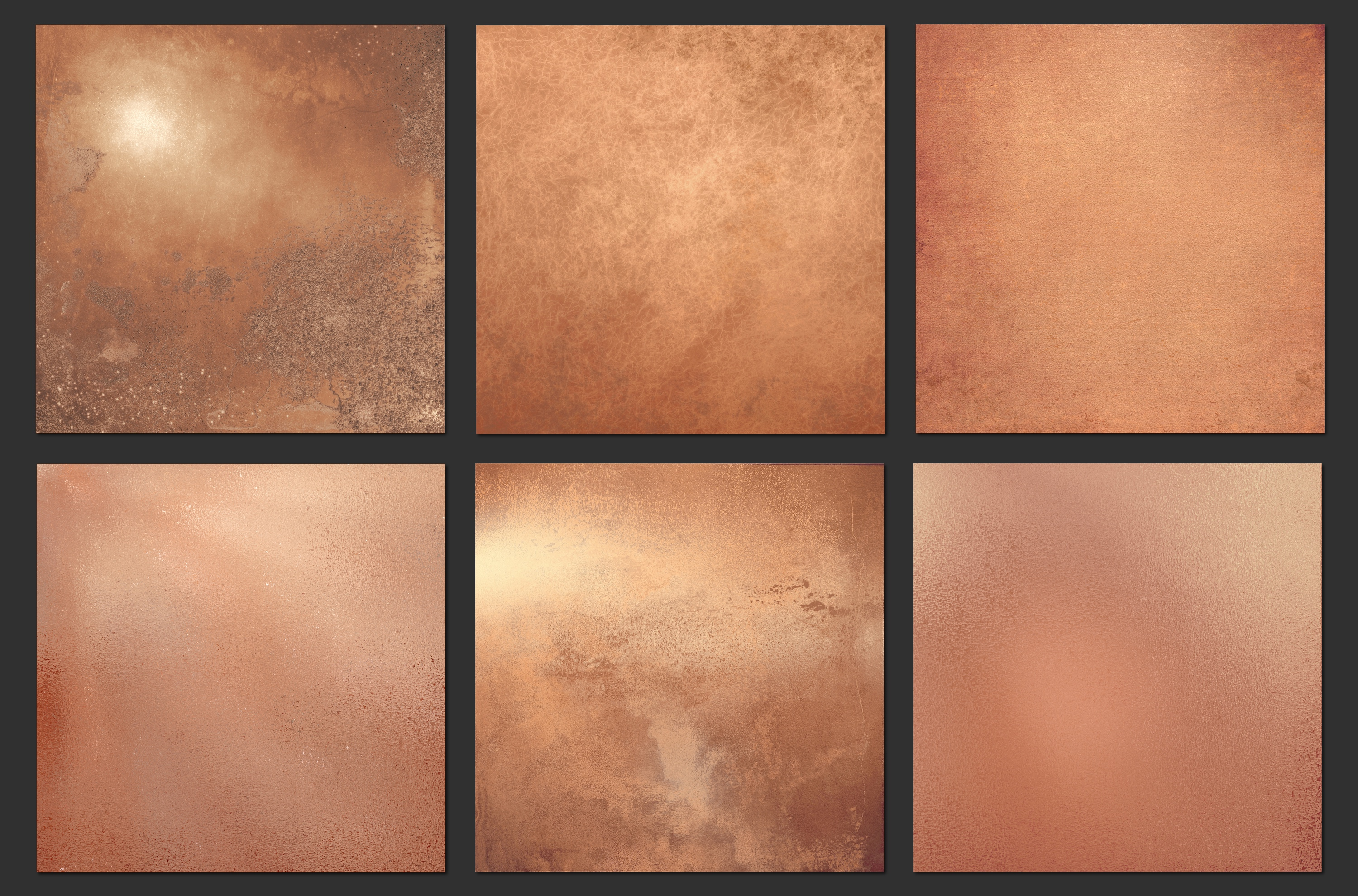 Aged rose gold textures example image 3