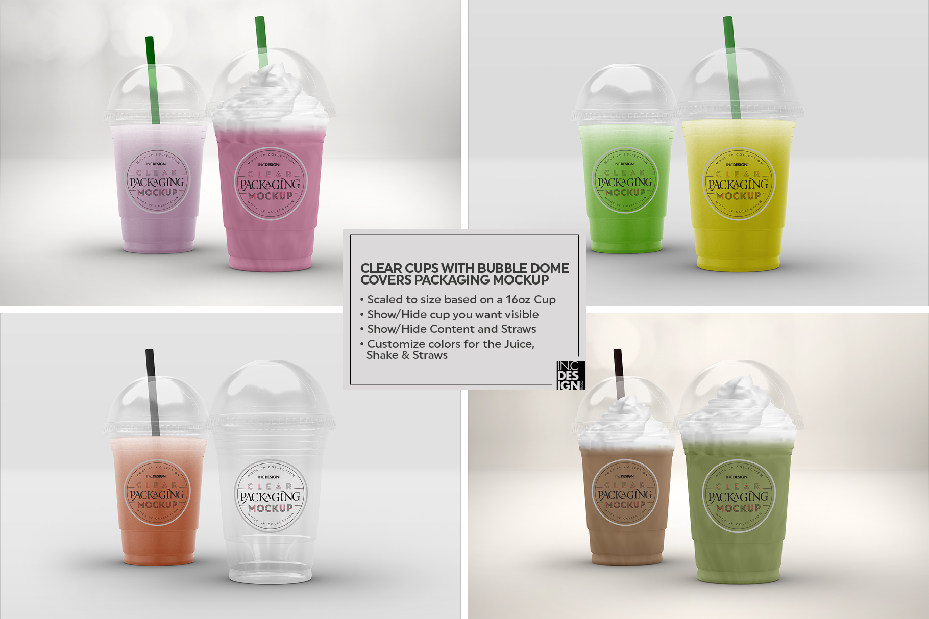 VOL.2 Clear Packaging Mockup Collection example image 9