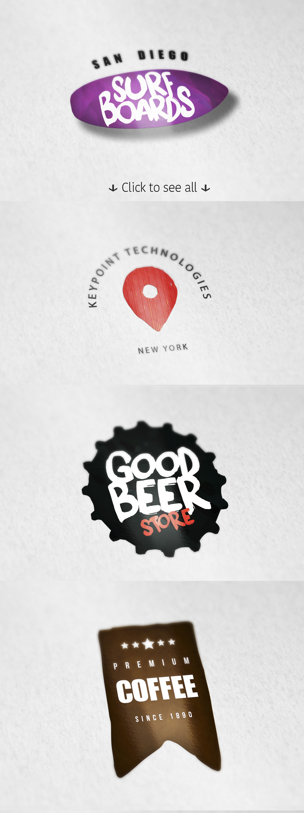 8 Logo Templates + Extras example image 2