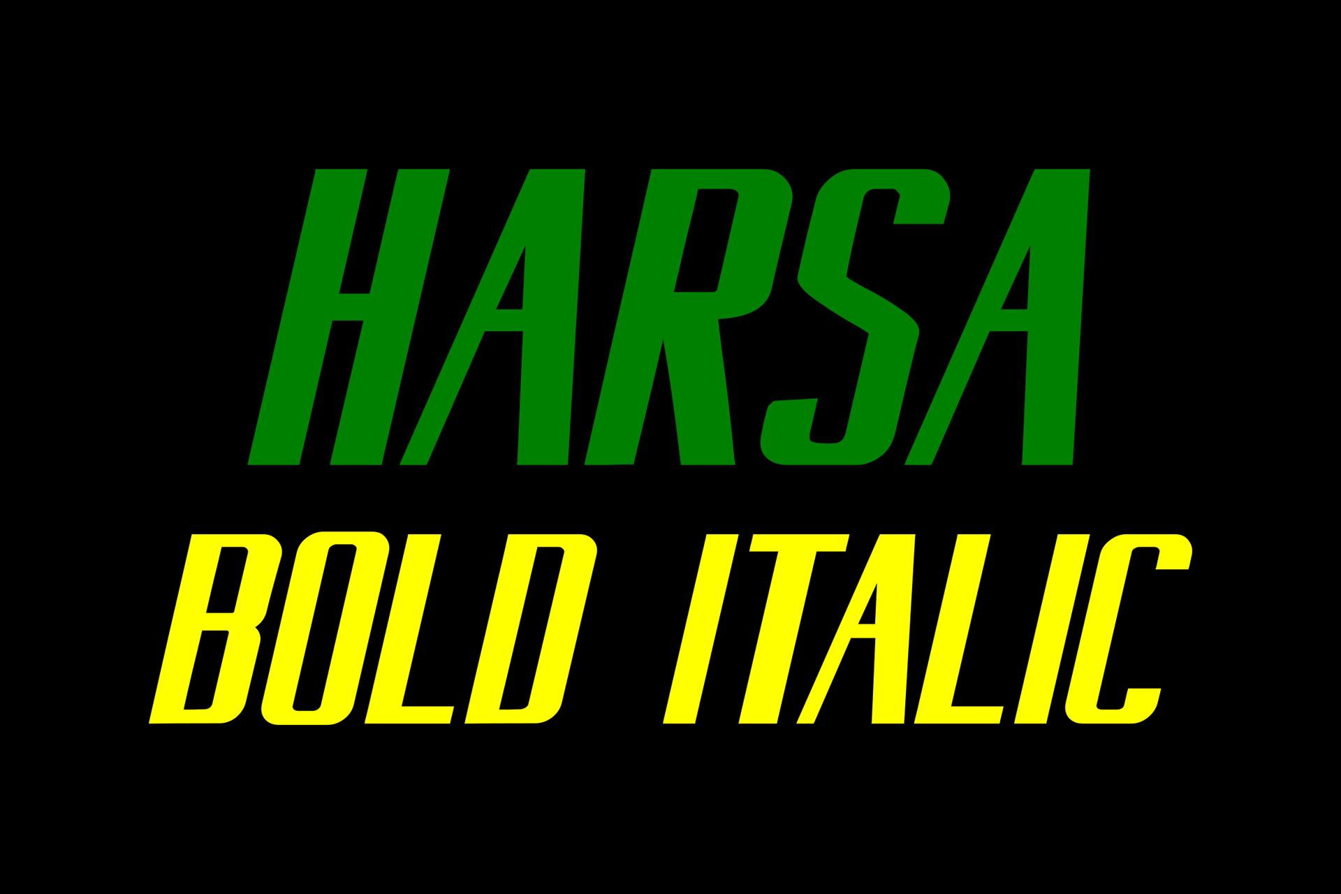 Harsa Bold example image 3