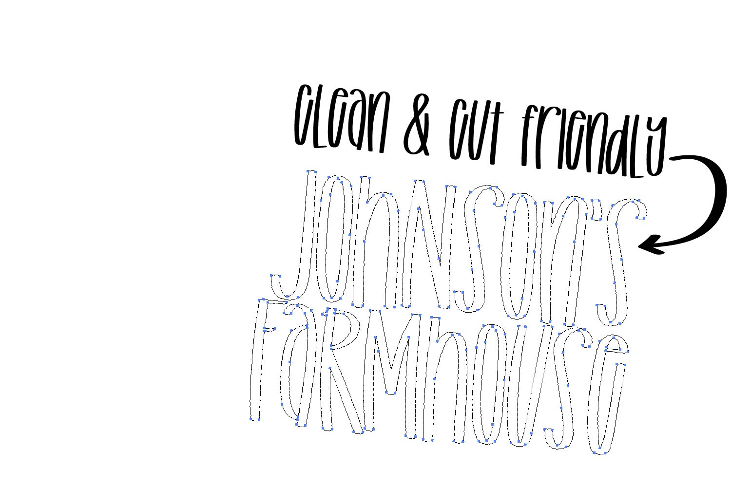 Fluently - A Tall cut-friendly Font example image 5