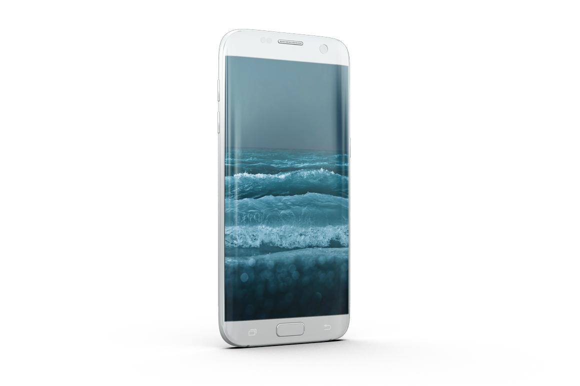 Samsung Galaxy S7 Edge Mockup example image 12