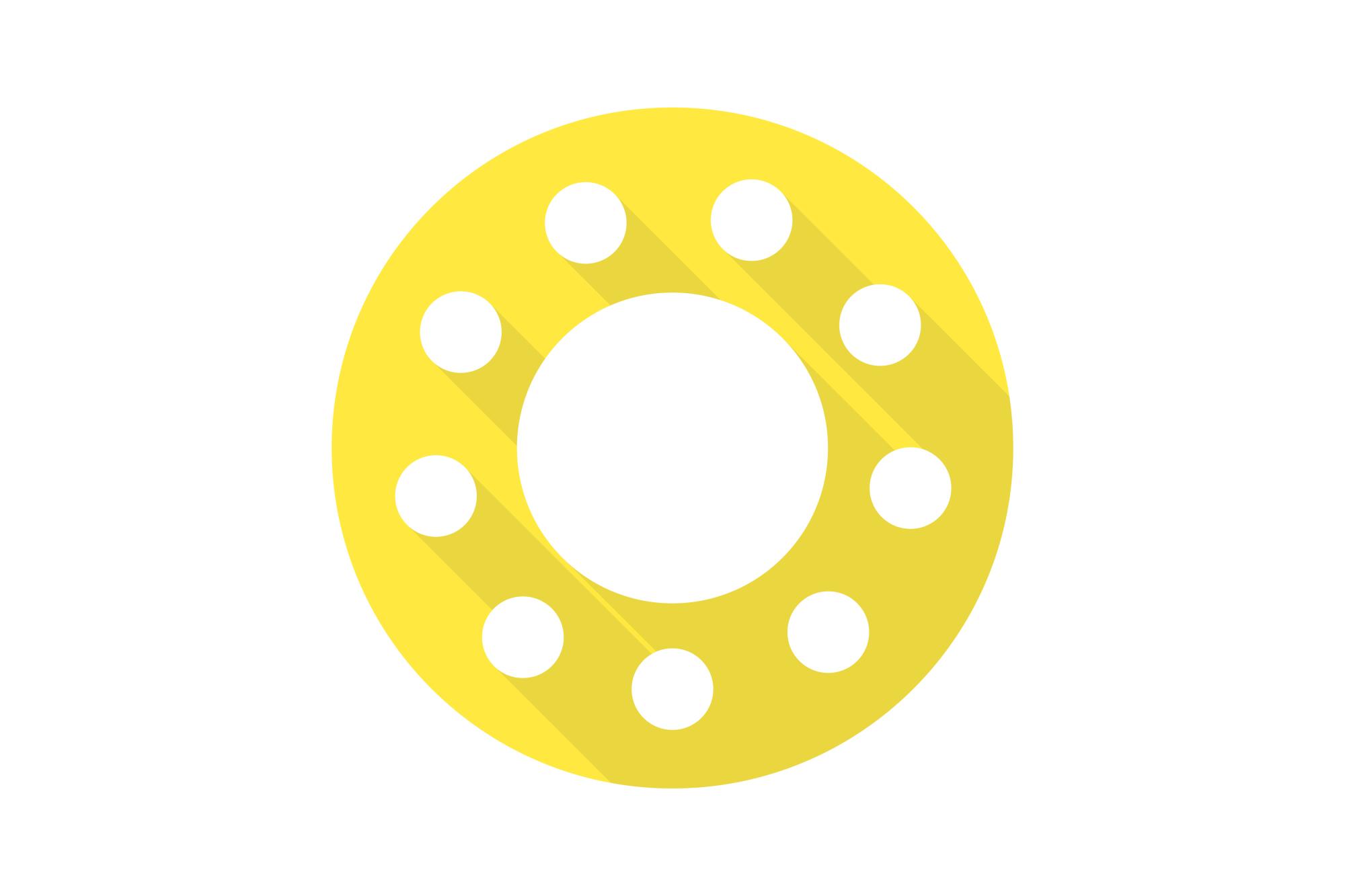 Vector sun icons set. Flat design. example image 2