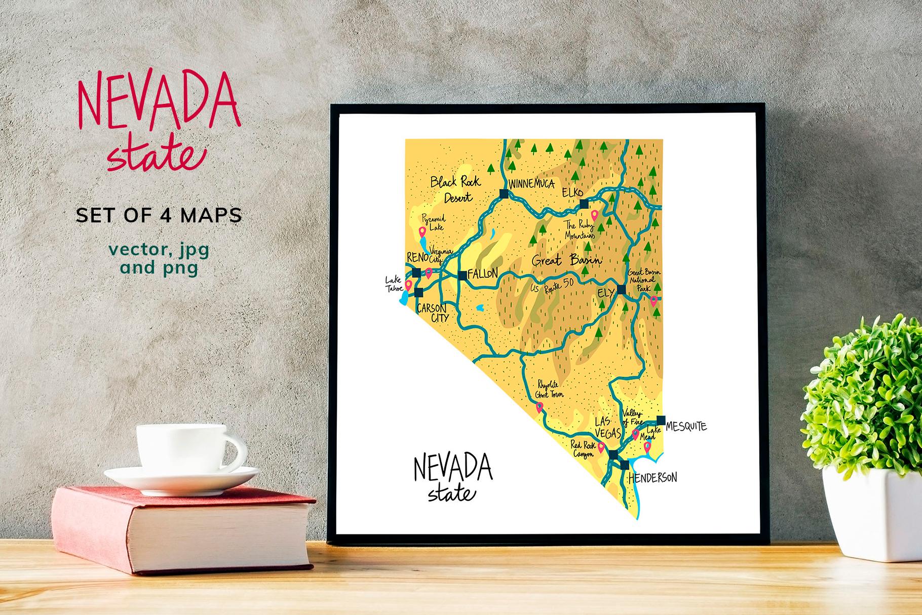 Nevada Maps example image 6