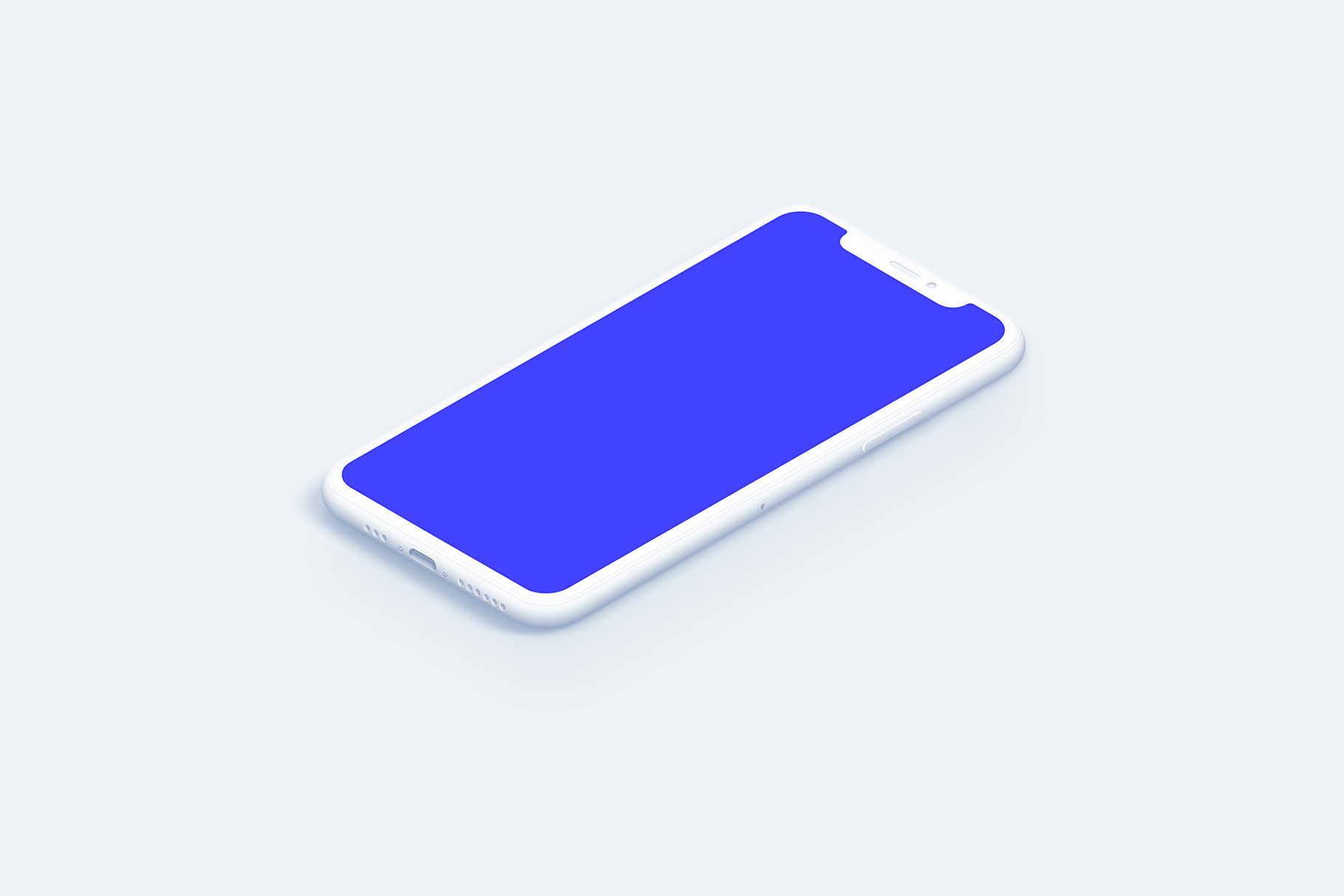 iPhone 11 Pro - 20 Clay Mockups Scenes - PSD example image 16