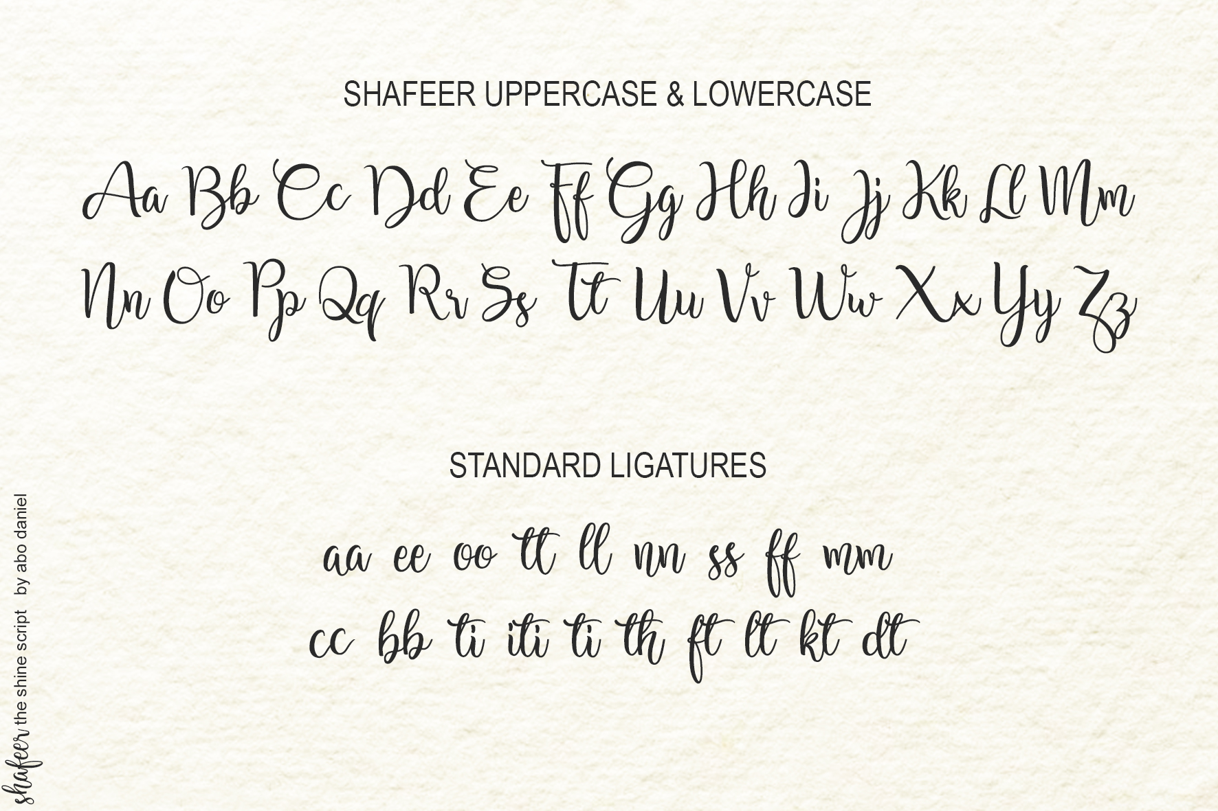 Shafeer -Beauty Font Duo- example image 13