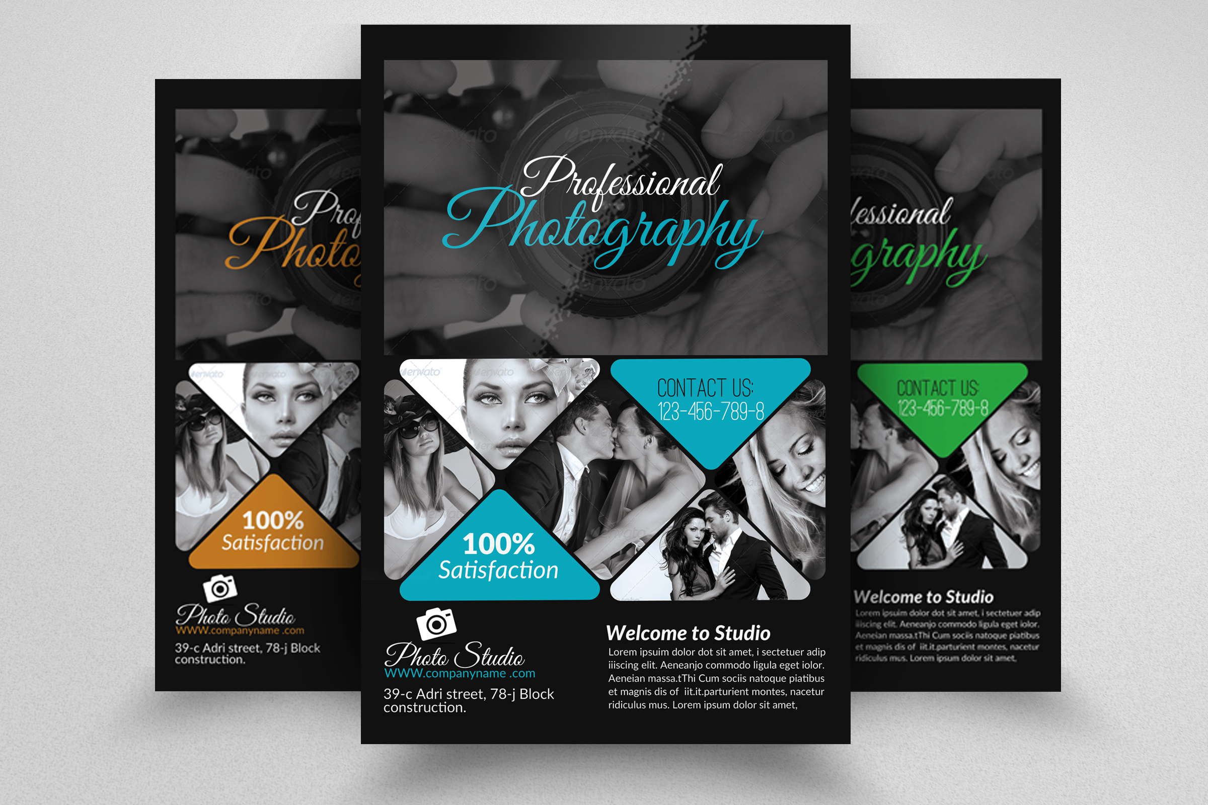Photography Studio Poster Template | PosterMyWall |Photography Business Flyer Ideas