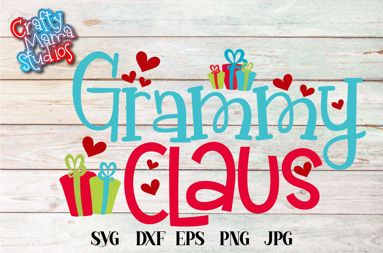 Christmas SVG, Grandma Claus, Grandma Christmas Bundle SVG example image 8