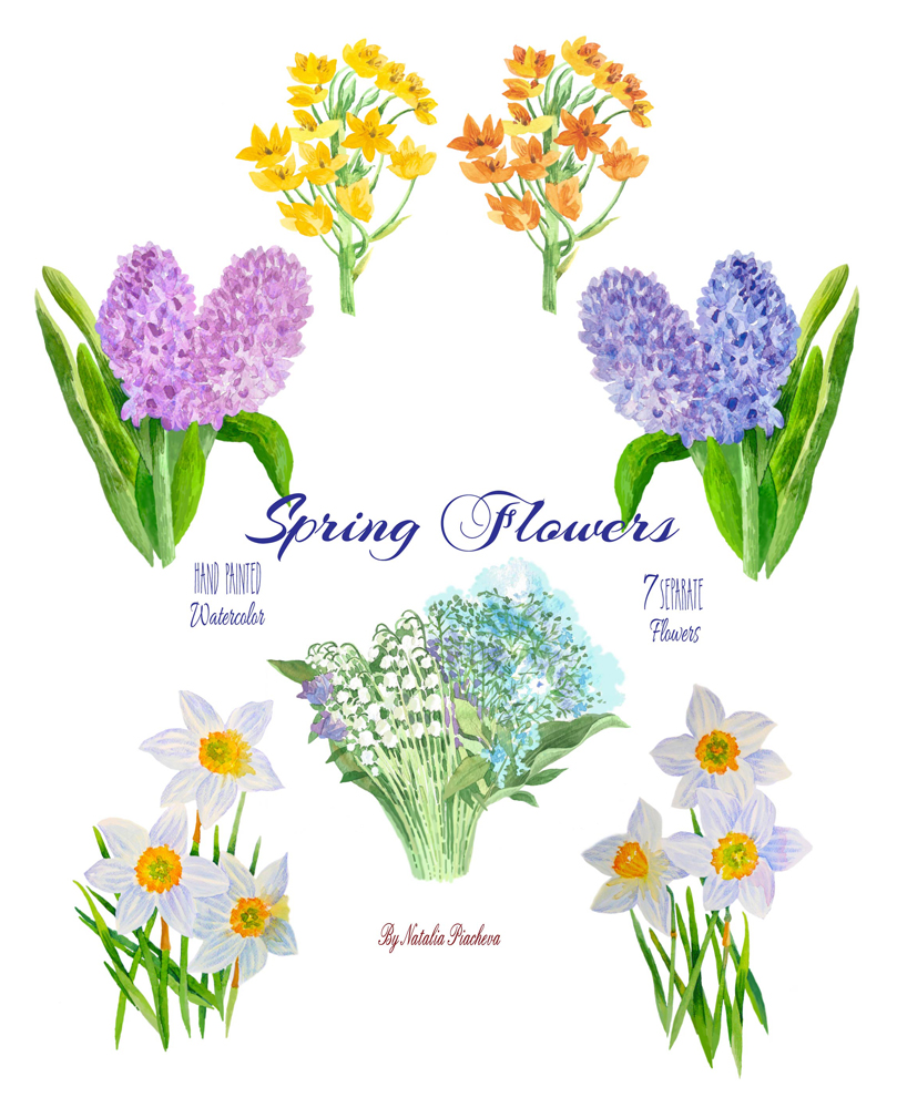 Spring Flowers example image 2