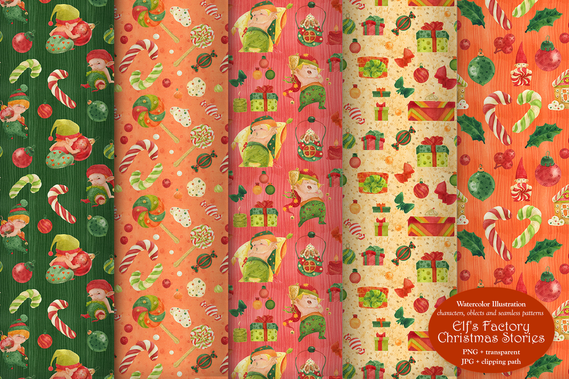 Elf's Factory Christmas Stories example image 7