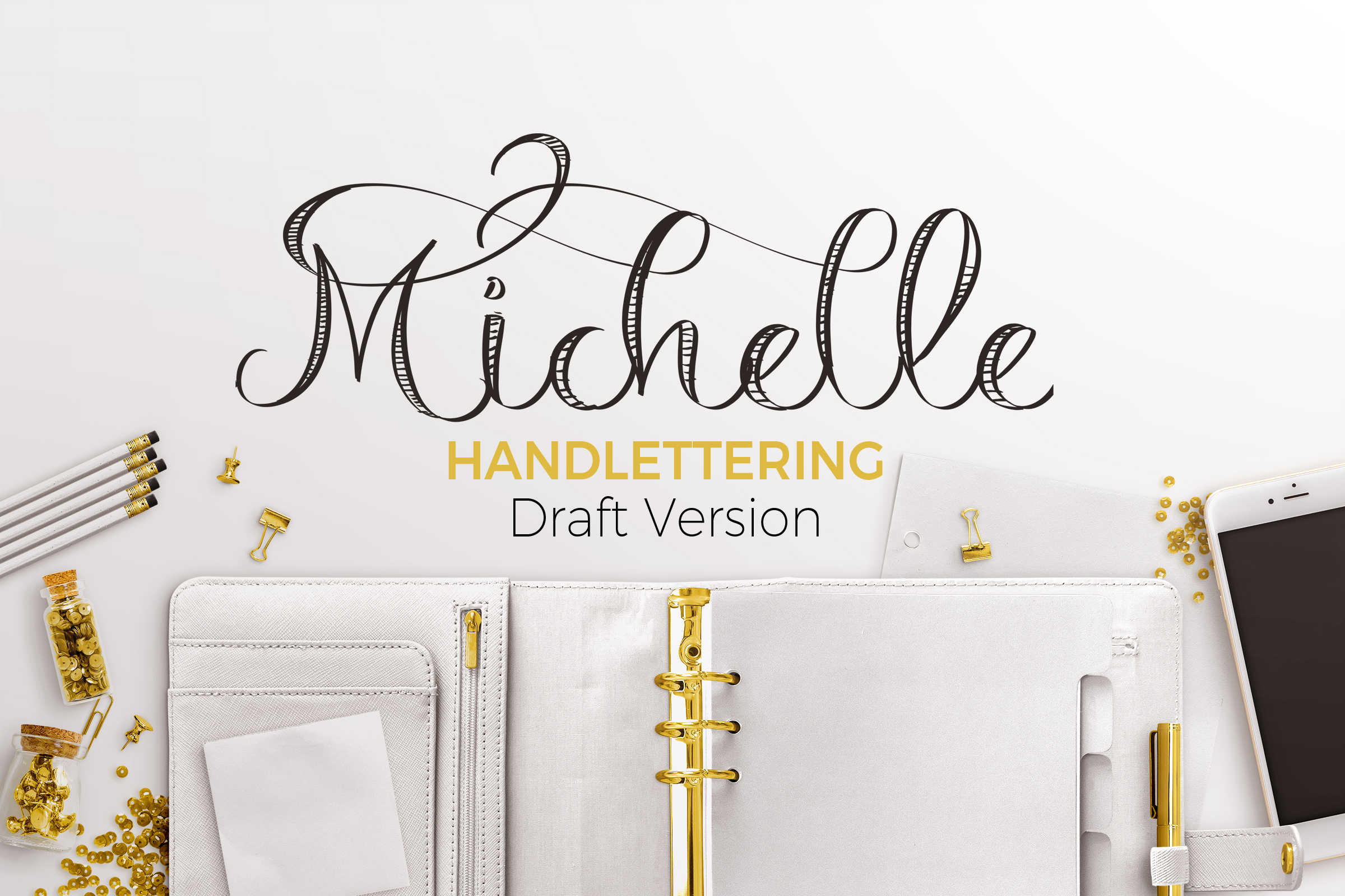 Michelle Handelettering  example image 1