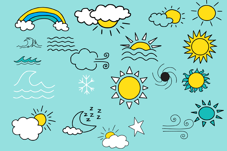 Weather Doodles example image 3