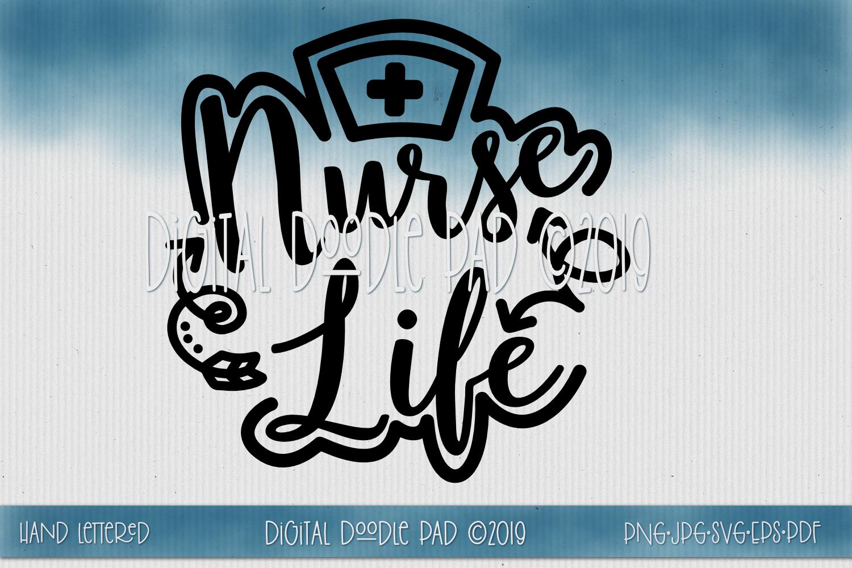 Nurse SVG Mini Bundle by Digital Doodle Pad example image 5