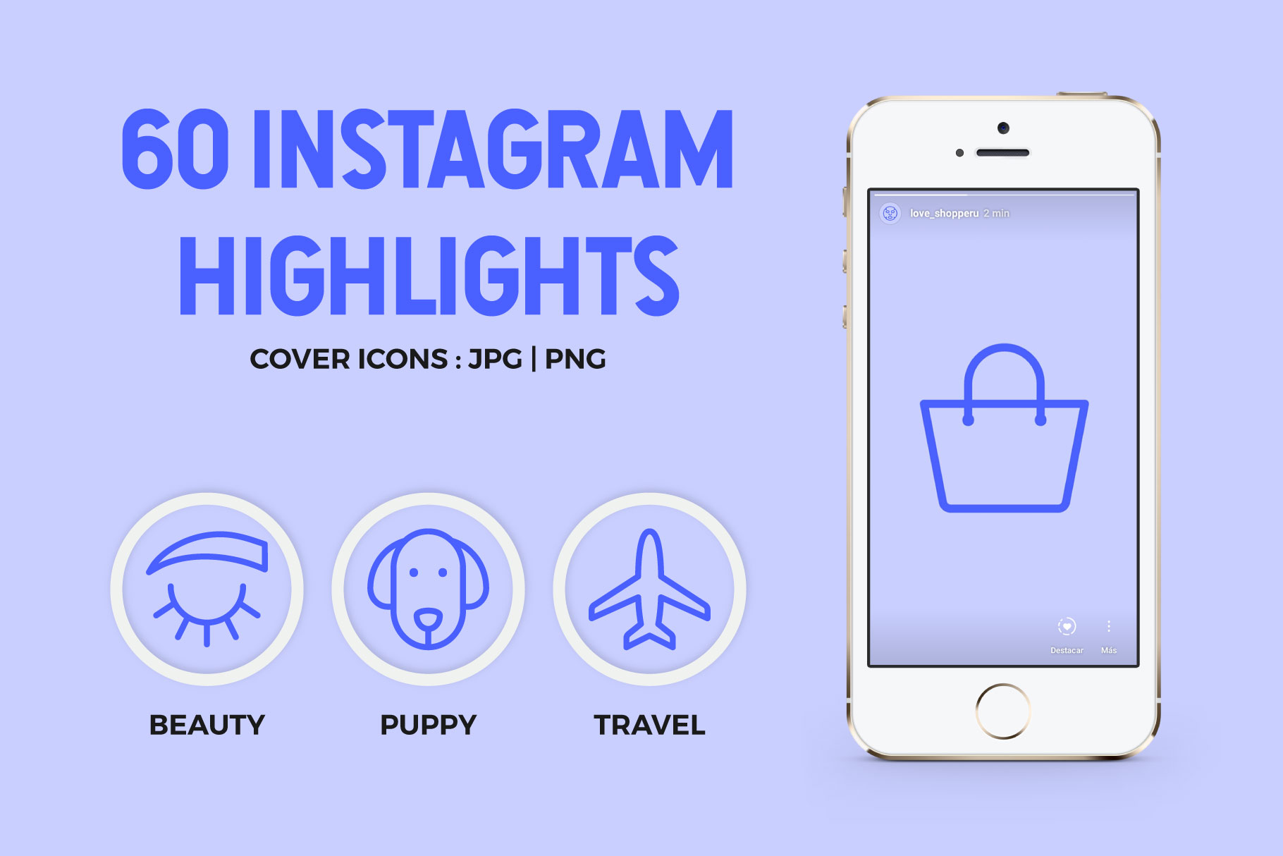 60 Instagram Stories Covers example image 1