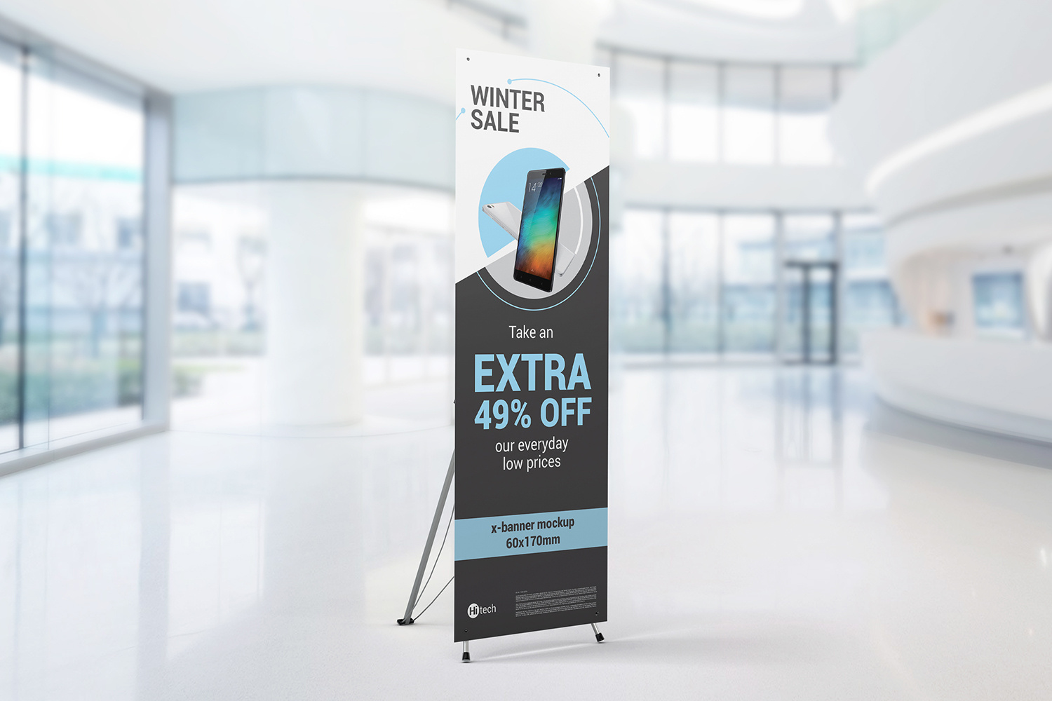 X-Stand Banner Mockups example image 2
