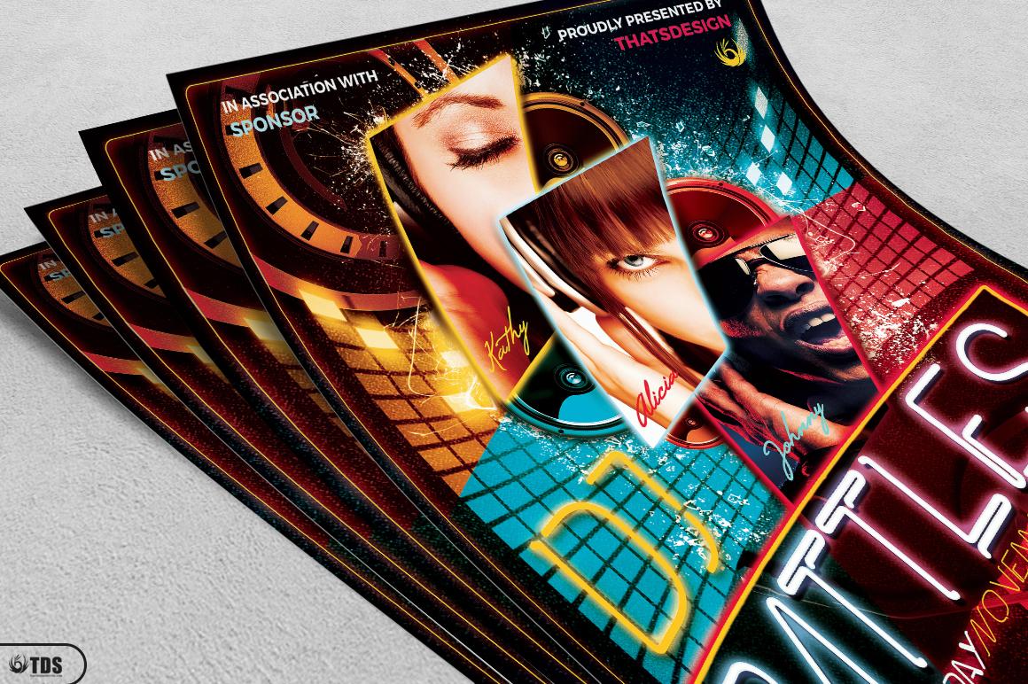 DJ Battle Flyer Template V1 example image 3