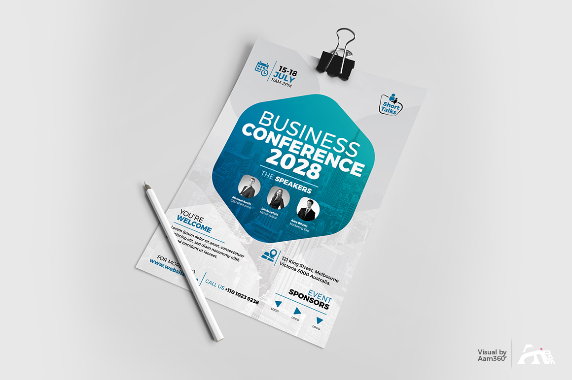 Conference Flyer example image 3