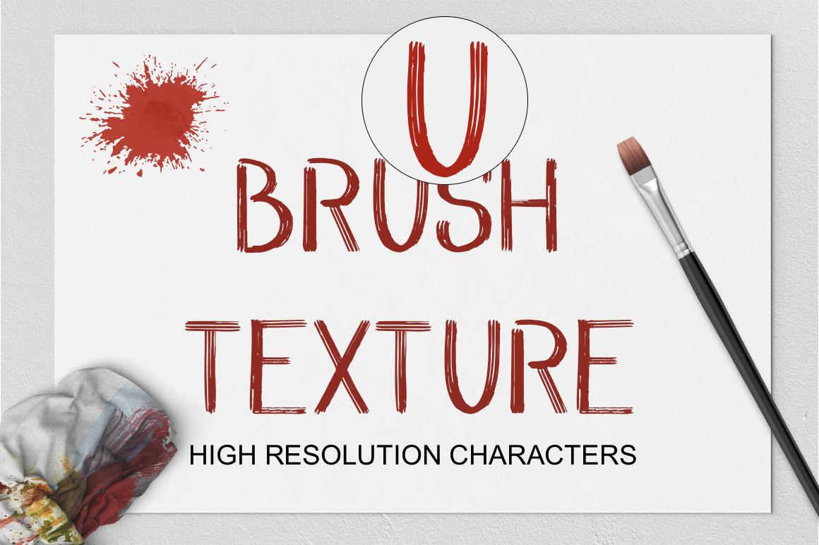WILD & FREE Brush Font example image 6
