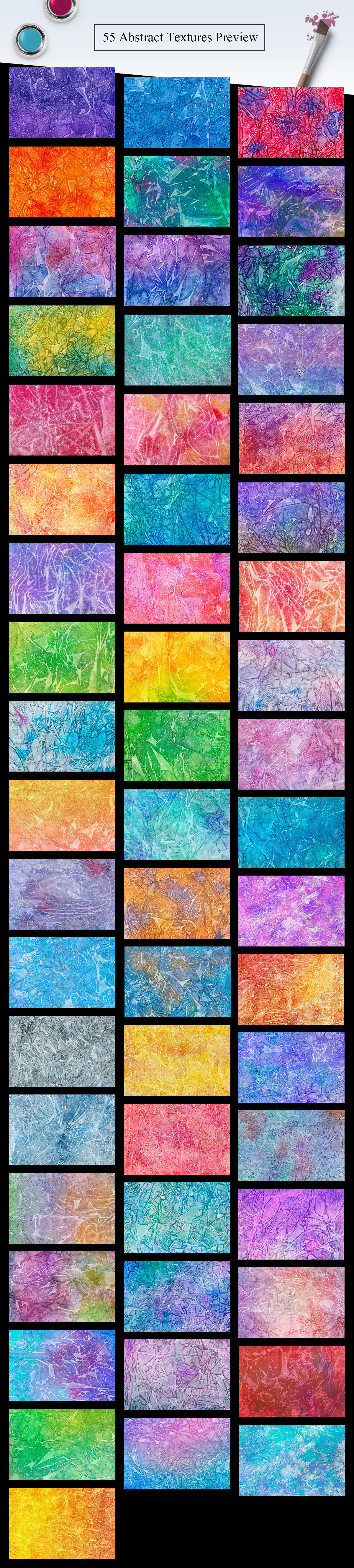 55 Watercolor Abstract Textures example image 2