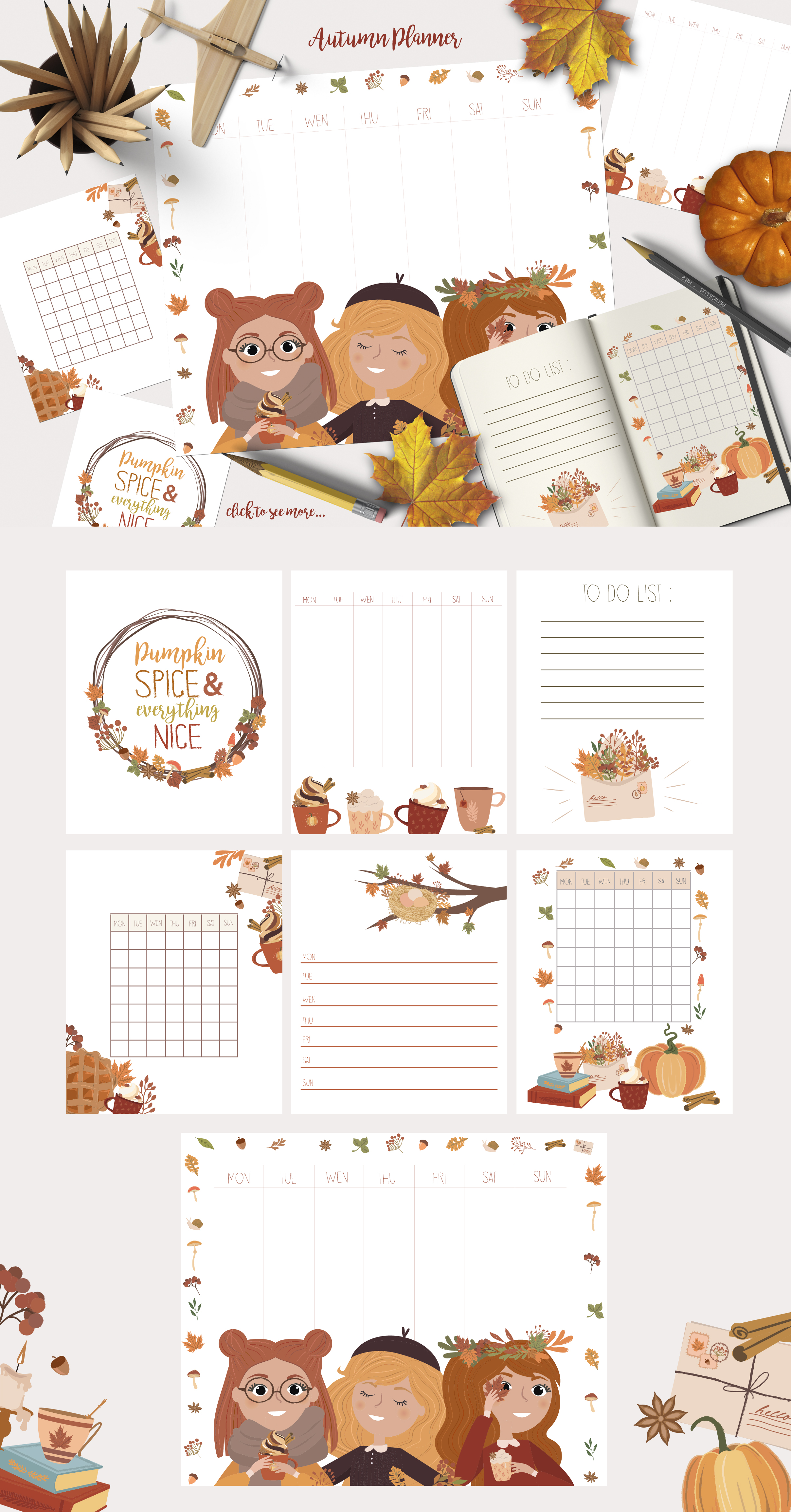 Autumn Dreams collection example image 3
