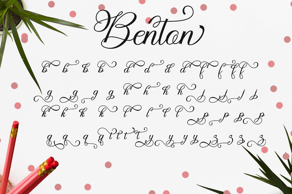 Benton example image 6