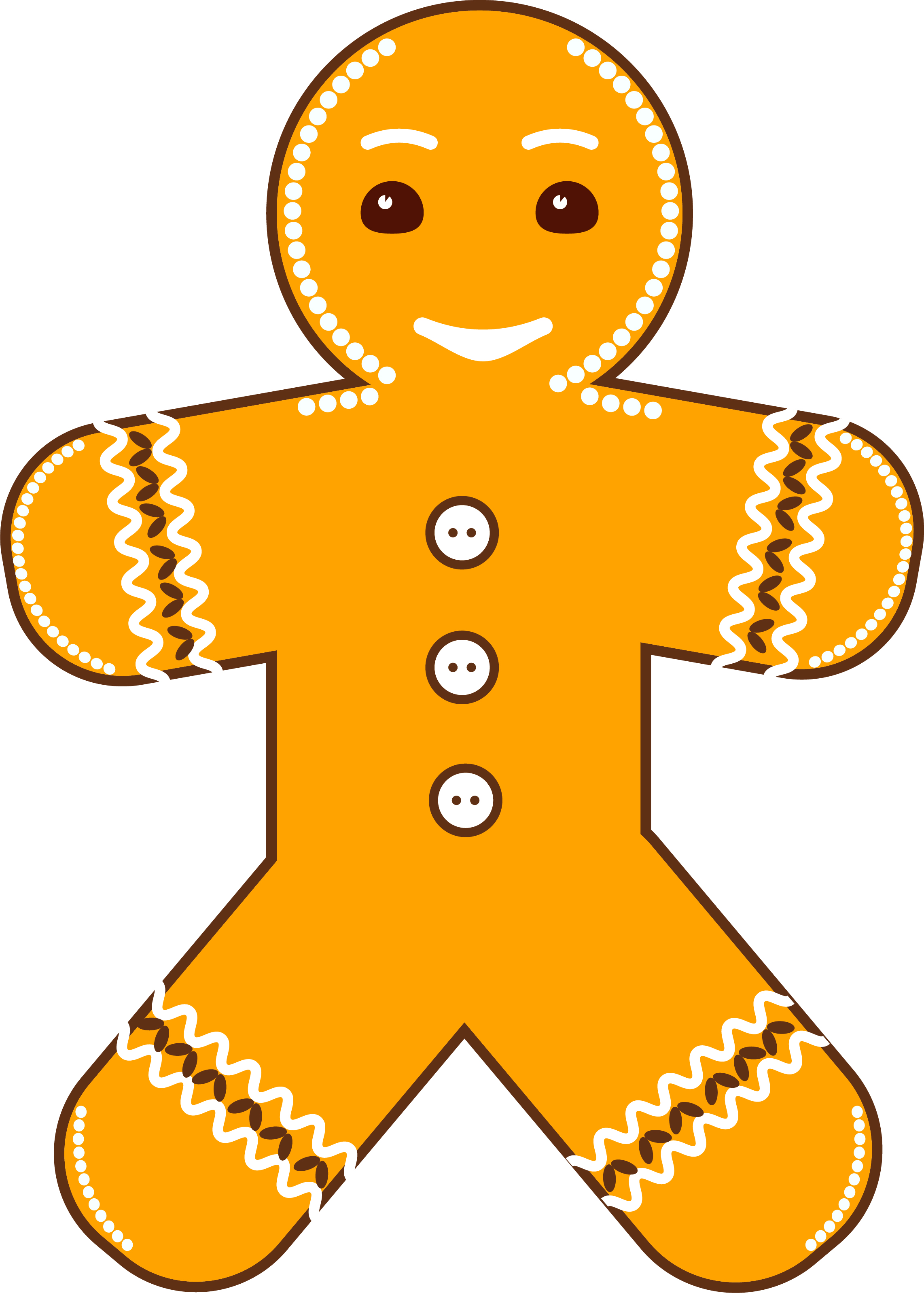 New Year Gingerbread Man example image 4