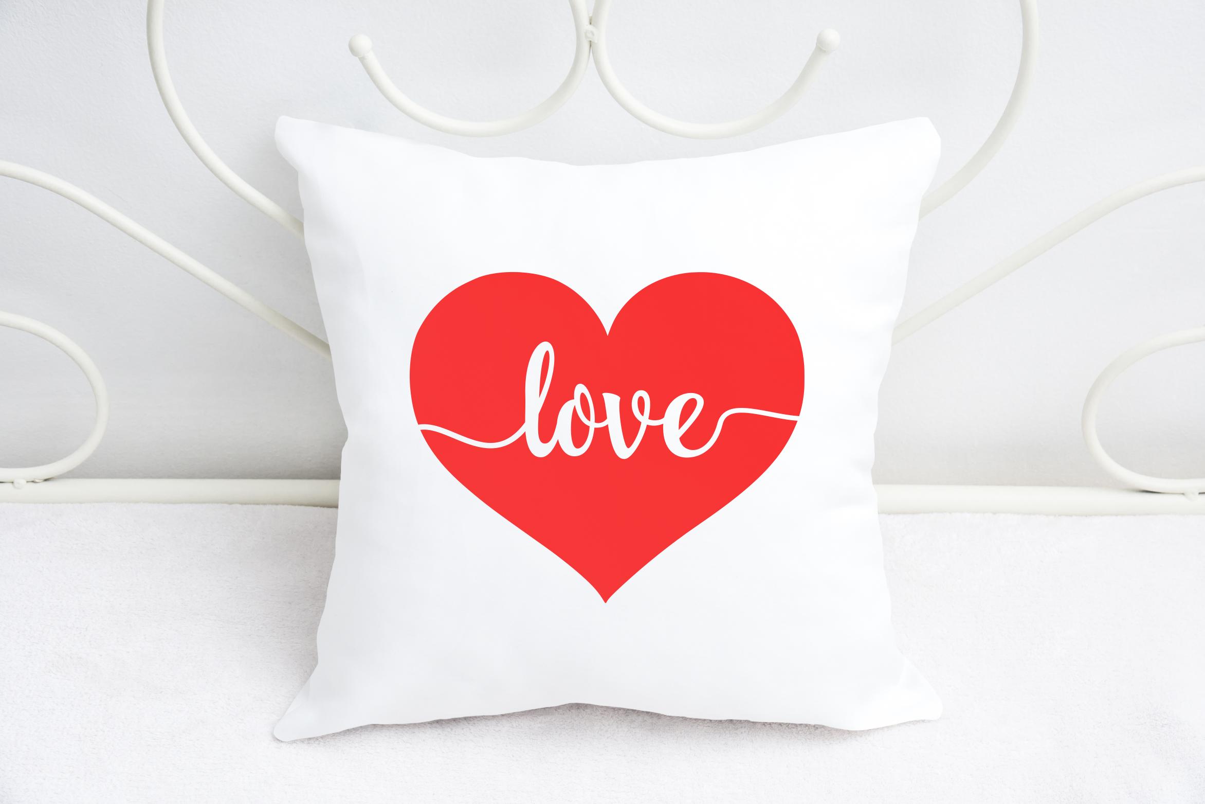 Love Svg, Heart Svg, Love Heart Svg, Valentine's Day Svg example image 3