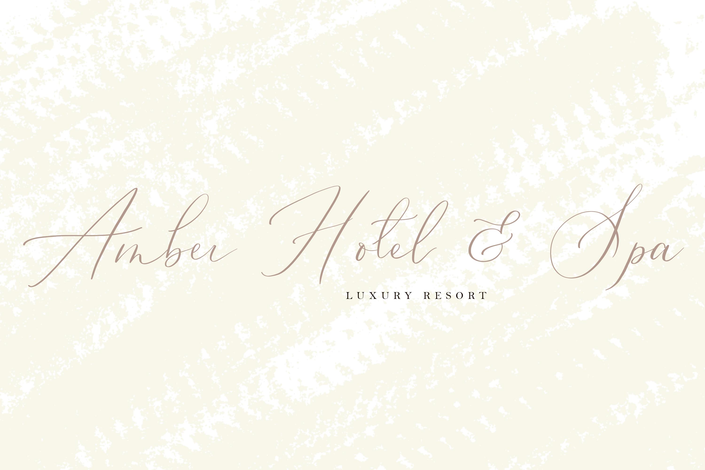 Oriole Bird handwritten font example image 3