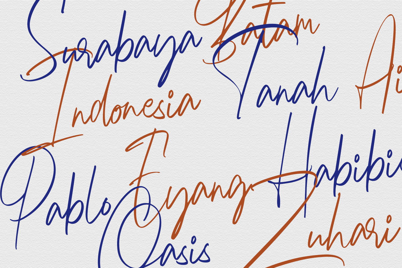 Marryliane Handwriting Font example image 6