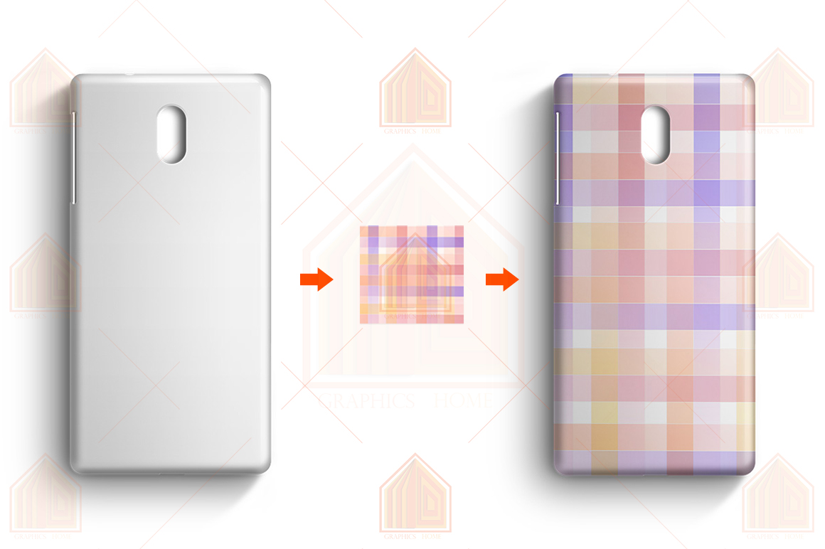 Nokia 3 3D Case Design Mockup Back View example image 3