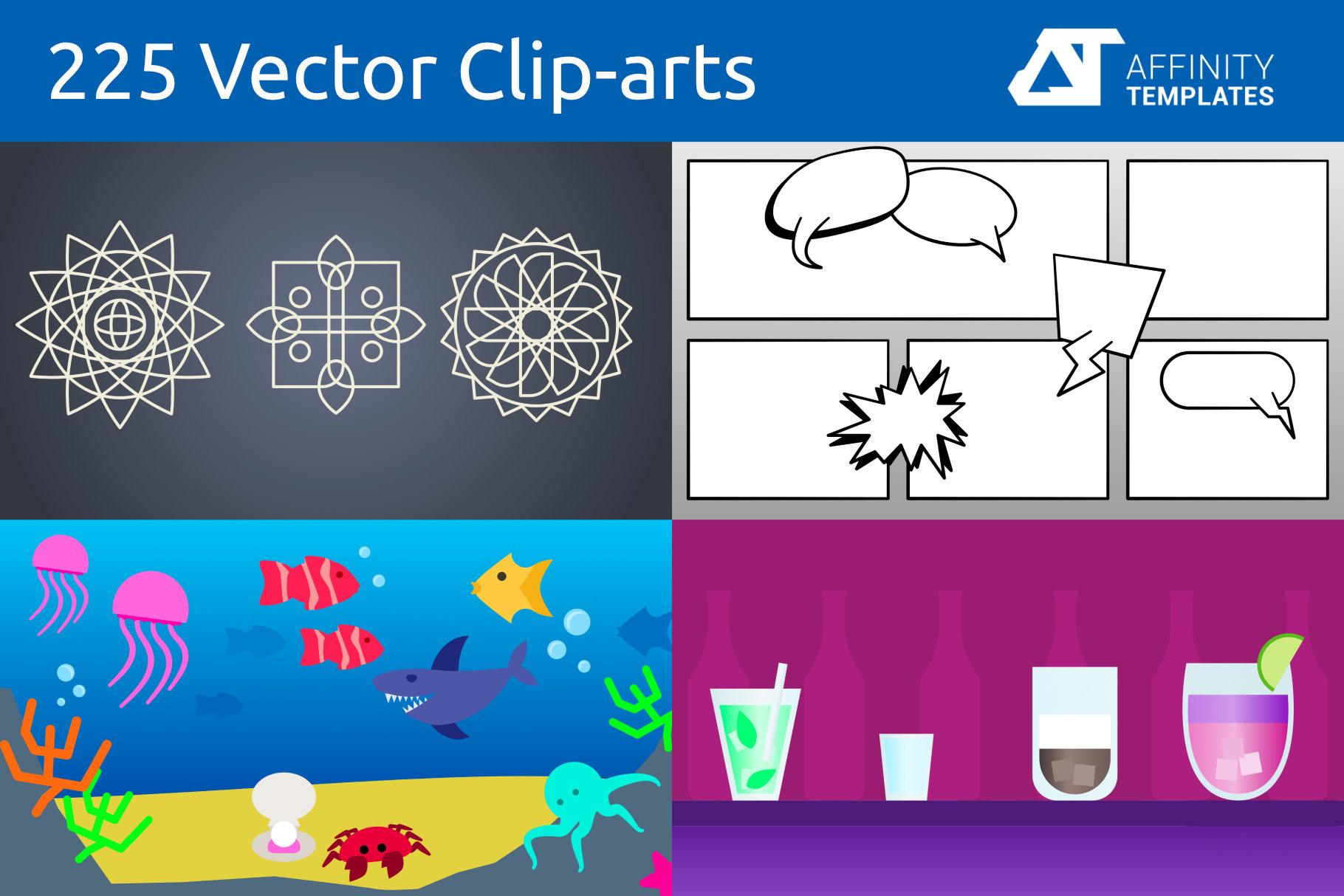 Affinity Designer Clip-atrs Bundle example image 2