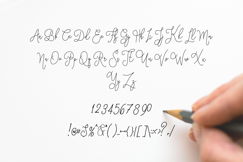Eufora Elegant Script example image 6